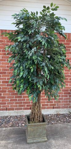 Decorative Tree with Pot - 9 Foot Height