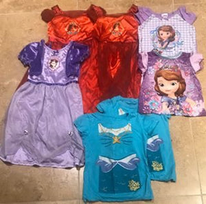 4/4T Disney Girls Lot