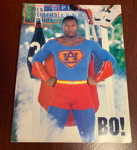 January 1991 Bo Jackson Superman Beckett Magazine