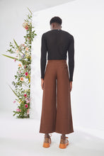 Load image into Gallery viewer, Embroidered Brown Trouser
