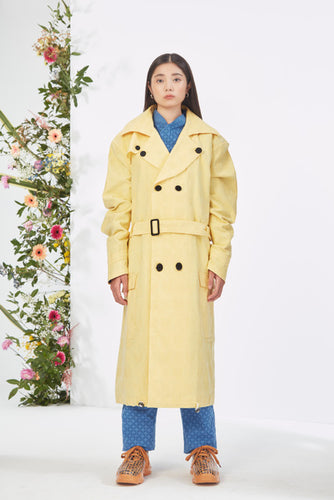 Shameless Yellow Trench Coat