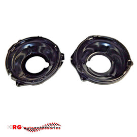 CHEVROLET CHEVY CAMARO  1967 - 1969 MODEL FRONT HEADLIGHT BUCKETS PAIR