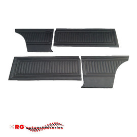FORD CORTINA MK2 2 DOOR COUPE INTERIOR DOOR TRIMS AND REAR TRIMS WITH CLIPS