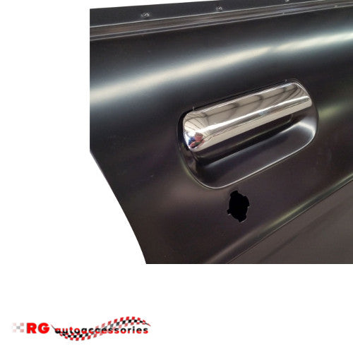 DATSUN NISSAN 1200 B110	FRONT DOOR EXTERIOR HANDLE CHROME RIGHT HAND SIDE