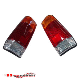 DATSUN NISSAN  720 UTE TAIL LIGHTS TO SUIT STYLE SIDE BODY COMPLETE SOLD AS A PAIR