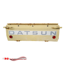 DATSUN NISSAN  1200 B110 B120	UTE TAILGATE STICKER IN BLACK ONLY