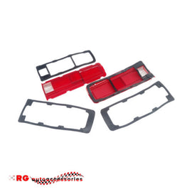 DATSUN NISSAN  1600 510 RED TAIL LIGHT AND LENSES PLUS RUBBER GASKETS SEALS