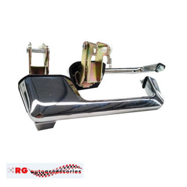 FORD FALCON GT 351 AND FAIRLANE  XR XT XW XY ZA ZB ZC ZD FRONT OUTER CHROME DOOR HANDLES AND GASKETS PAIR LEFT AND RIGHT