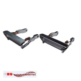 FORD FALCON FAIRMONT XA SEDAN GT 351 AND STATION WAGON REAR OUTER DOOR HANDLES WITH GASKETS PAIR