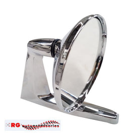 FORD XL XM XP COMPACT 500	UNIVERSAL STAINLESS MIRROR DOOR OR GUARD MOUNT LEFT=RIGHT  X1 ONLY