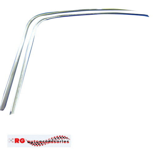 FORD FALCON XR XT XW XY ZA ZB ZD ZC SEDAN DRIP RAIL GUTTER MOULDS LEFT AND RIGHT SIDE GT 351