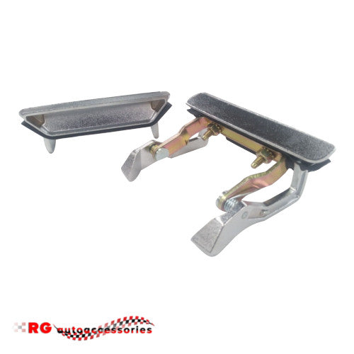 FORD FALCON XA SEDAN AND COUPE FRONT EXTERIOR DOOR HANDLES PAIR GT FAIRMONT