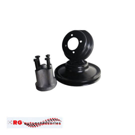 FORD FALCON XW XY V8 CLEVELAND PULLEY SET AND FAN SPACER TO UIT 320  351 ENGINES  GT