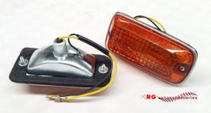 MITSUBISHI CHRYSLER LANCER LA A72 FRONT GUARD SIDE FENDER INDICATOR LIGHTS