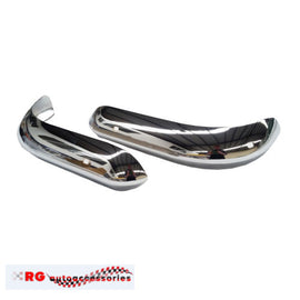 FORD ESCORT MK1 FRONT BUMPERTTES CHROME SOLD AS A PAIR RS MEXICO SEDAN OR COUPE