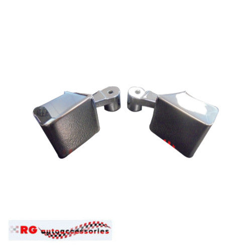 HOLDEN HQ - HJ - HX - HZ INTERIOR CHROME DOOR HANDLES TO SUIT ARMRESTS X 2 LEFT AND RIGHT MONARO GTS KINGSWOOD PREMIER