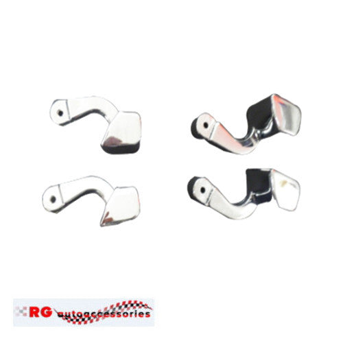 HOLDEN TORANA LH - LX - UC SEDAN INTERIOR DOOR HANDLE SET TO SUIT ARMRESTS X 4 SLR/5000 , A9X , SL , SUNBIRD