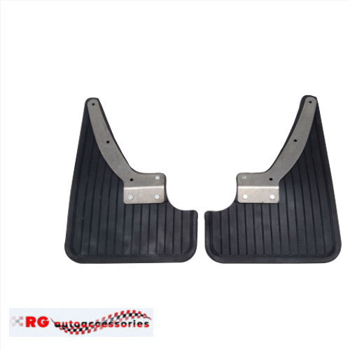 HOLDEN TORANA MUD FLAPS COMPLETE SET WITH BRACKETS AND SCREWS TO SUIT SEDAN OR HATCH