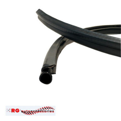 HOLDEN GEMINI  TX-TD-TC-TE-TF-TG  COUPE DOOR FRAME RUBBER AND PINCH WELD IN BLACK X 2