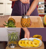 Coupe Ananas<br>Cylindrique - Queue de Coq