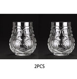 Free Shipping New Style 500ml(16.5oz) Premium Tiki Glass Juice Glass  Tiki Glass - Queue de Coq
