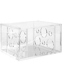 Wines & Cool Box Transparent for 6 Bottles