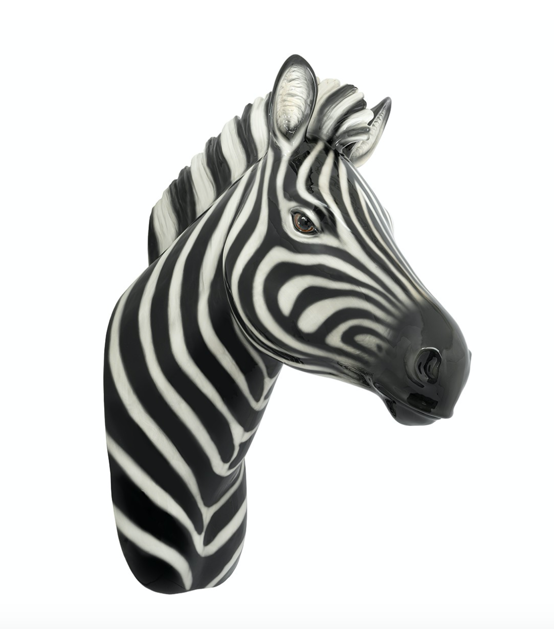 KONRAD INTERIOR SELECTION - ZEBRA HEAD HANGING