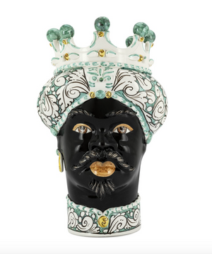 KONRAD INTERIOR SELECTION - VASE MORO MAN CROWN