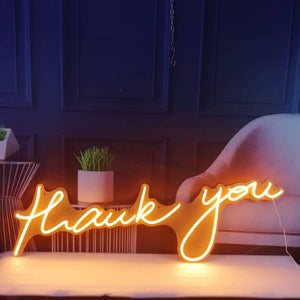 KONRAD LIFESTYLE NEON SIGN - THANK YOU