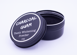 Activated Charcoal Powder Teeth Whitening Kit (w/ Bamboo Toothbrush!)