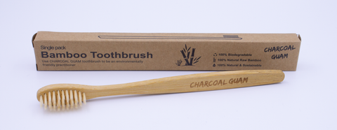 Bamboo Toothbrush, 100% biodegradable