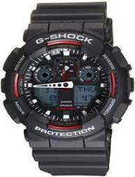G-Shock Resin Men's Watch #GA100-1A4