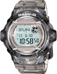 Baby G-Shock Grey Resin Digital Sport Watch #BG169R-8