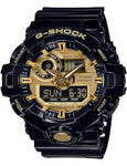 G-Shock Quartz Resin Casual Watch Black Men's Watch #GA710GB-1A