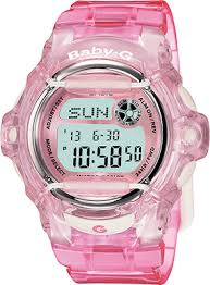 Baby G-Shock Pink Whale Digital Sport Watch #BG169R-4