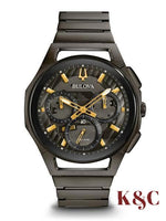 Brand New CURV Men's Bulova Watch 98A206