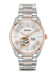 Brand New Bulova Wilton Automatic Men's Watch Model: 98A213