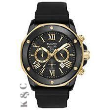 Brand New Bulova Marine Star Chronograph Men's Watch Model: 98B278