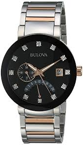 Brand New Bulova Diamonds Collection Men's Watch Model: 98D129