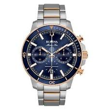 Brand New Bulova Marine Star Collection Men's Watch Model 98B301
