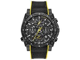 Brand New Bulova Precisionist Chronograph Men's Watch Model: 98B312