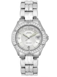 Guess Women's Stainless Steel Crystal Watch #G75511M