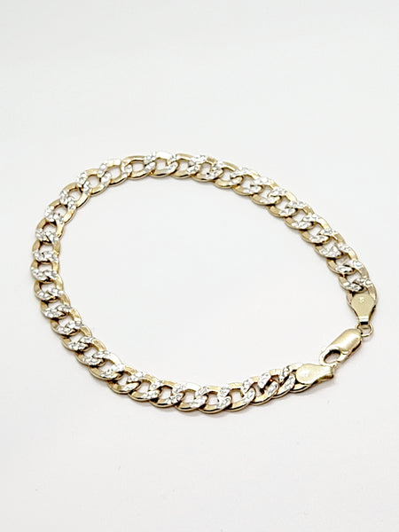 "14 Karat 8"" Yellow Gold Men's Bracelet  KC3793X"