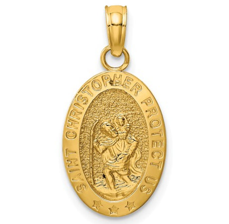 14K St. Christopher Medal KC5081