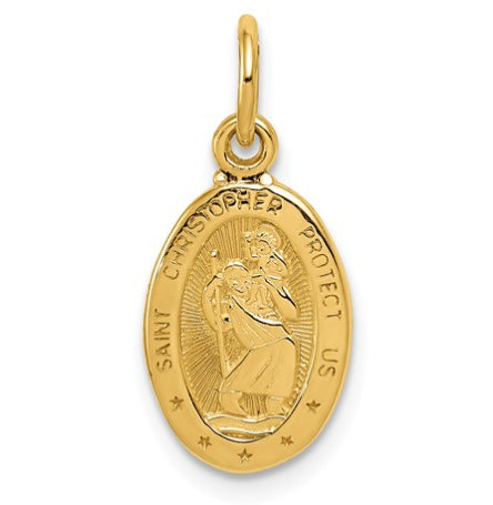 14K St. Christopher Medal KC820