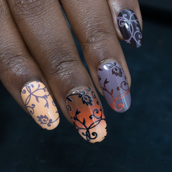 Stamping polish for nail art. Australian made. Wide variety of colours available. High quality.