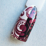 """Partners in Wine"" stamping polish"