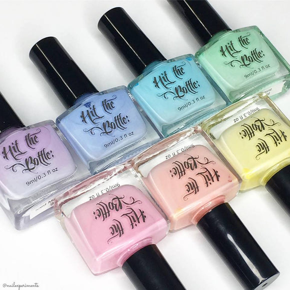 Pastel stamping polish collection -