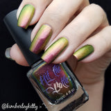 """Fantasy Feathers"" multichrome polish collection."