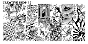 Creative Shop stamping plate 47